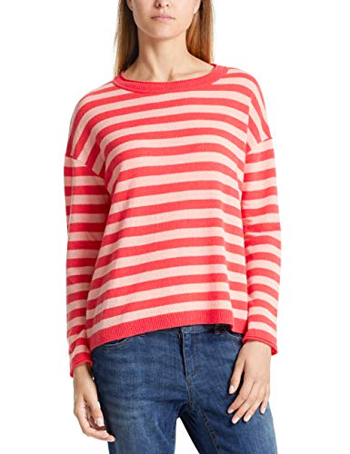 Marc Cain Collections Damen LC 41.33 M03 T-Shirt, Rot (Coral 221), 40 -