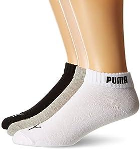 Puma Promotion - Calcetines de deporte para hombre, paquete de 6, color multicolor (negro/blanco/gris), talla 39-42