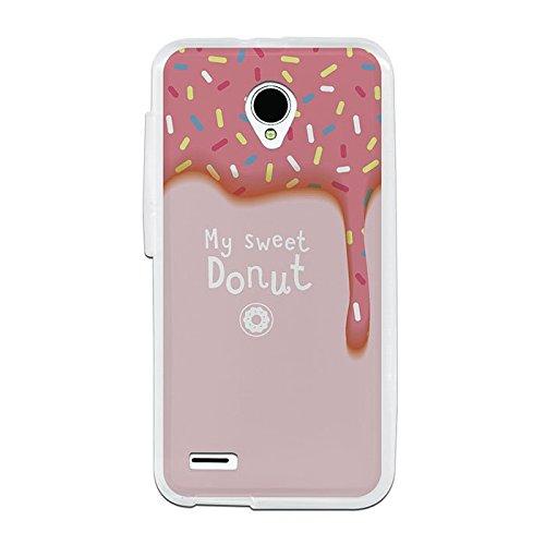 Funda Gel Flexible Vodafone Smart Prime 6 BeCool Sweet Donut Carcasa Case Silicona TPU Suave