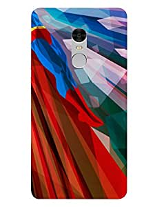 Redmi Note 4 Smartphone Superman Printed Colorful Back Cover By Make My Print