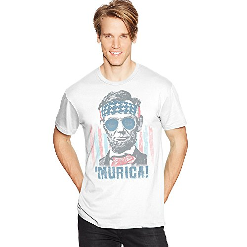 Hanes Mens Murica Graphic Tee Shirt Gt49C/A1 Murica