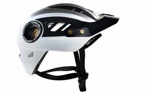 Urge All-Mountain MTB Helm -weiß/silber- L/XL 2014 SALE