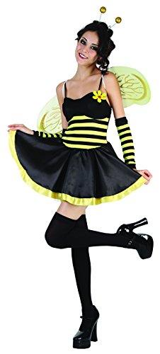 Imagen de reír y confeti  fibani004  para disfraces para adultos  disfraz de abeja sexy  mujer  talla m