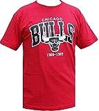 Mitchell & Ness Chicago Bulls HWC Arch Logo Tee Scarlet T Shirt T-Shirt Men NBA