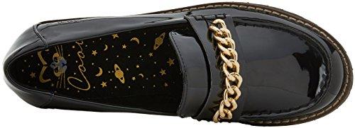 COOLWAY Cherlof, Mocassins (Loafers) Femme Noir (Blk)
