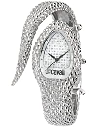 Just Cavalli Damen-Armbanduhr POISON Analog Quarz Edelstahl R7253153515