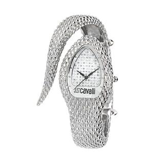 Just Cavalli Poison – Reloj (Reloj de Pulsera, Femenino, Acero, Plata, Plata, Transparente)