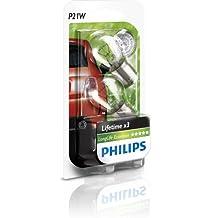 Philips 12498LECOB Lampadina Per Luce Segnaletica, P21W, Confezione Da 2