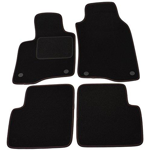 Preisvergleich Produktbild 1379 NEU! Fußmatten mit Sichtnaht für Fiat Panda (Typ 319/312) ab Bj: 2011 bis 2015
