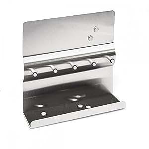 edelstahl schl sselbrett mit magnetwand magnete schl sselleiste mit magnettafel. Black Bedroom Furniture Sets. Home Design Ideas