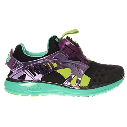 Puma - - Herren Zukunft Disc Lite Tech'D Out-Schuhe Black/Electric Green