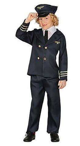 Airline Pilot Costume De Déguisement - Garçons Airline Pilot Capitaine Uniforme Job Aviator
