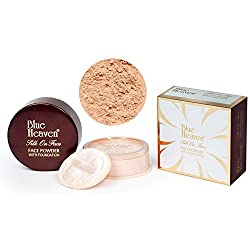 Blue Heaven Silk On Face Face Powder With Foundation 40 GMs (DARKTAN)