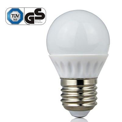 LE® 3W G45 E27 LED Lampen, Ersatz für 25W Glühlampen, 220lm, warmweiß, 2700K, Globaler 160° Abstrahlwinkel, LED Birnen, LED Leuchtmittel von Lighting EVER - Lampenhans.de