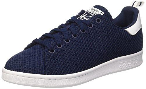 adidas Stan Smith Ck, Scarpe da Ginnastica Basse Uomo, Blu (Collegiate Navy/Collegiate Navy/Footwear White), 44 EU