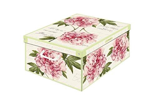 Kanguru Box Collection Midi Peony, Pappe, mehrfarbig, 32x 42x 17.5cm (Box Collection Vertikale)