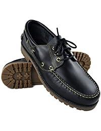Zerimar Leder Bootsschuhe für Herren Segelschuhe Grosse Grösse n Herren  Echte Leder Schuhe Casual Echte Leder… 34eaf1aa2c