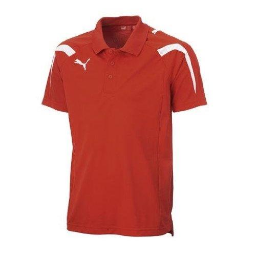 PUMA Herren Teamsport Poloshirt PowerCat 5.10 puma red-white