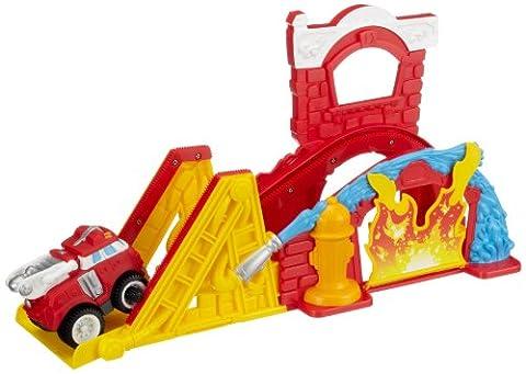 Camion Playskool - Playskool - Camion de pompier et circuit