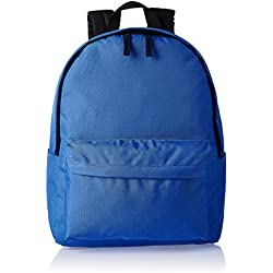 AmazonBasics, Mochila de estilo clásico, Azul (Azulón)