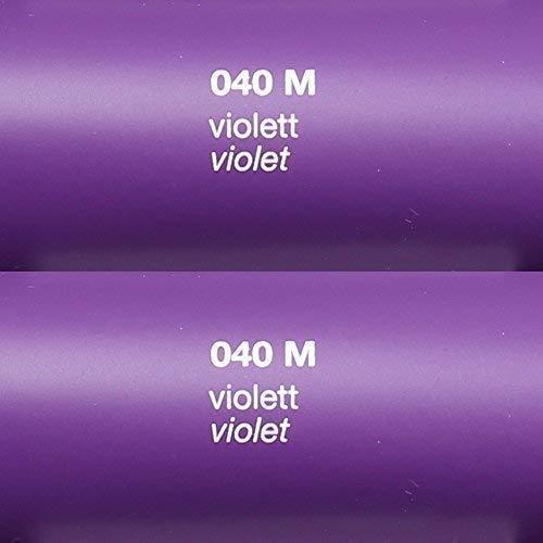 Unbekannt 5,39€/m² Rapid Teck® Matt Folie - 040 Violett - Klebefolie - 5m x 63cm - Folie Matt Plotterfolie - Klebefolie selbstklebend - auch als Moebelfolie - Dekofolientage