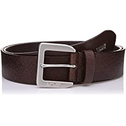 Levi's Men's Leather Belt (6901379535138_85_Brown)