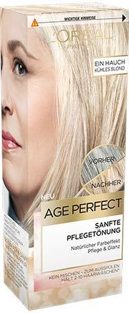 Blonde Tönung (Loreal Age Perfect Sanfte Pflegetönung kühles Blond 80 ml)