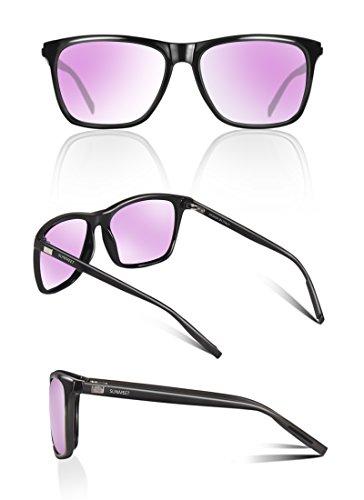 SUNMEET Gafas de sol Hombre Polarizadas Clásico Retro Gafas de sol para  Hombre UV400 Protection S1001 ... 6af1ee53e3