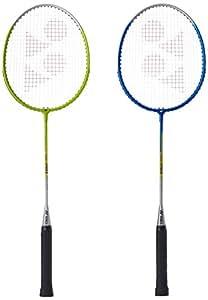 Yonex Gr 201 badminton Racquet, Pack Of 2 (Assorted)