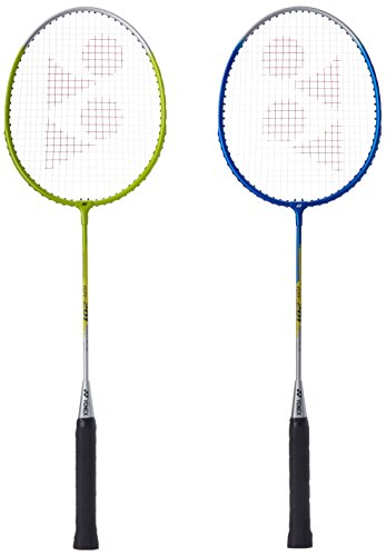 Yonex Gr 201 badminton Racquet, Pack Of 2 (Assorted)