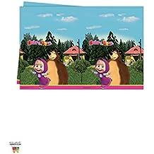 Procos 86515 – Mantel de plástico Masha y el oso, ...