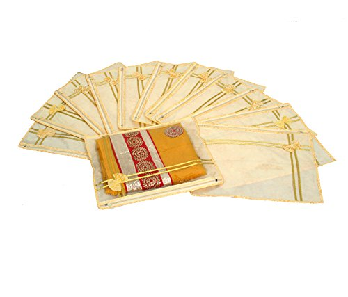 Kuber Industries Printed Non Wooven Saree Cover Set Of 12 Pcs (With...
