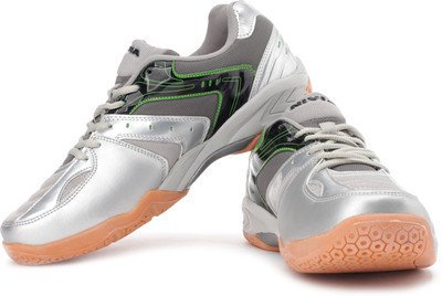 Nivia Mandate Tennis Shoes, UK 6 (Grey)