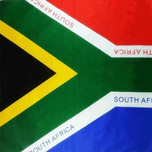 ischer Flagge, Südkorea-Flagge, Bandana, Bandana, Bandana, Kanadische Flagge, Bandana, südafrikanische Flagge, England, USA-Flagge, Kopfbedeckung, Bandana, South African Flag, Large ()