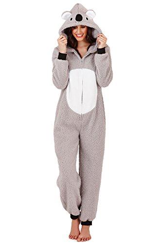 Loungeable Damen Onesie 3D Ohren Schlafanzug – Kiki Koala - 2