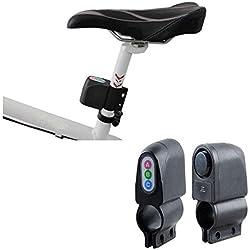 Alarma Acústico con código para bicicleta bicicleta antirrobo candado cadena Moto | Alarma Antirrobo sonoro electrónico bicicleta bicicleta con código–2aintimo®