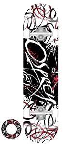 Osprey Double Kick Pro Maple Deck Skateboard - Script Graffiti