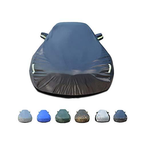JIANPING-Car-Abdeckung Regenschutz, Winddicht, staubdicht, UV-beständig, Nicht brennbar, Oxford-Stoffbezug, geeignet für den Einsatz im Hummer H2 innen und außen (Color : E) (Reifen Cover Jeep Hummer)