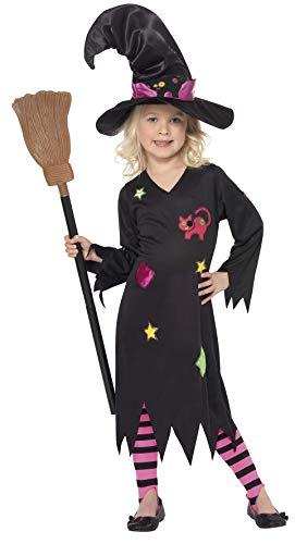 Smiffys 35655S Zunderhexen-Kostüm für Kinder, S, ()