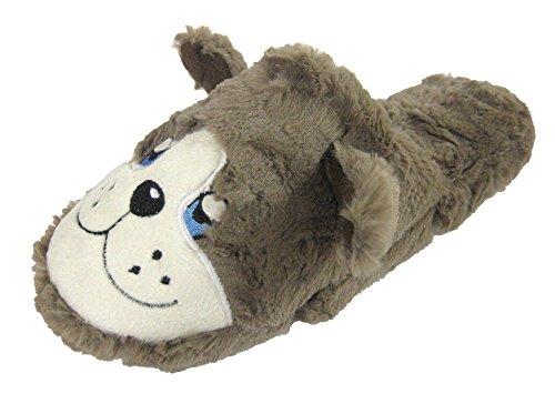 Coolers-Mules Polaire & Dozy chien Gris - gris