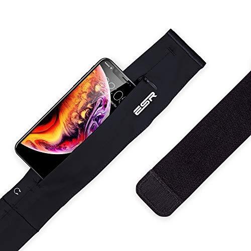 Riñonera Running Cinturón Running Deportiva Ligera [Largo Ajustable] [Puerto para Auriculares] [a Prueba de Sudor] Viaje Excursión para iPhone 7 Plus Samsung S8 Plus S7 Edge