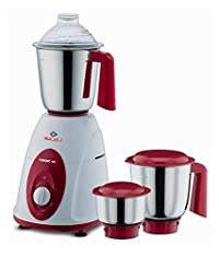 Bajaj Majesty Classic 750-Watt Juicer Mixer Grinder White & Red