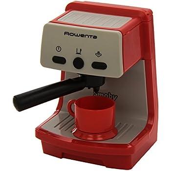 Smoby  - 24802 - Jeu d'Imitation - Accessoire Cuisine - Rowenta Espresso - Rouge
