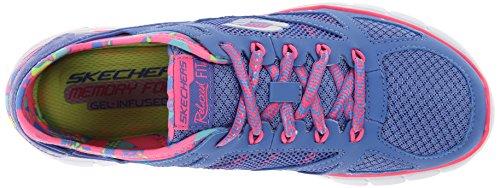Skechers Skech-flexultimate Reality Damen Sneakers Violett (PRHP)