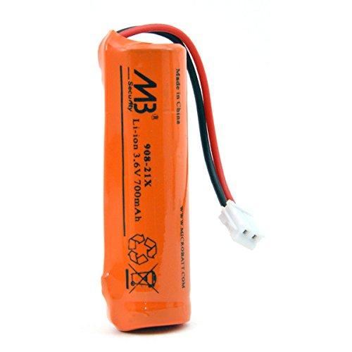 Microbatt - Pile alarme 1x LIC14500 1S1P 3.7V 700mAh JST