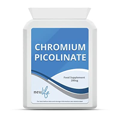 Chromium Picolinate 200ug - 60 Tablets by Neulife Health & Fitness Supplements