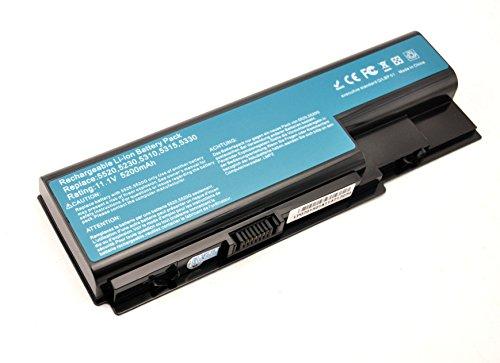 5200mAh Batterie pour Acer Aspire 5220 5230 5235 5310 5315 5330 5520 5530 5710 5715 5720 5730 5910 5920 5930 5935 5940 6530 6920 6930 6935 7220 7230 7330 7520 7530 7535 7540 7720 7730 7735 8530 8730 8735 8920 8930 8935 8940 eMachines E510 E520 E720 G420 G520 G620 G720 Battery AS07B31 AS07B32 AS07B41 AS07B42 AS07B51 AS07B52 AS07B61 AS07B71 AS07B72 AS07B75 AS07BX1 AS07BX2
