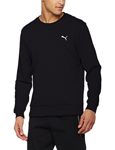 Puma Bluza Ess Crew Sweat S Jacket, Black, S