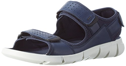 Ecco Herren Intrinsic Sandal, Blau (58960true Navy/True Navy), 43 EU