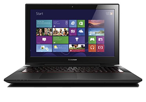 Lenovo Y50 15.6 Inch UHD Notebook (Intel Core i7-4710HQ 3.5 GHz, 16 GB DDRIIIL RAM, 1 TB+8 GB SSHD, External DVDRW, NVIDIA GTX-860M 4 GB, HDMI, Webcam, BT, Wi-Fi, Voice Control, Windows 8.1) - Black